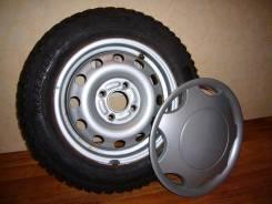 Продаю зимние шипованные шины на стальных дисках