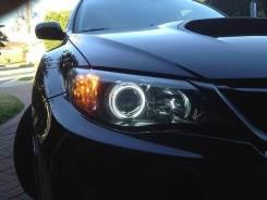Ангельские глазки CCFL на Subaru Impreza 07-11