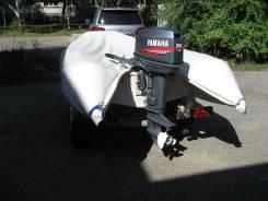 Продам лодку с мотором Yamaha 30 + телега