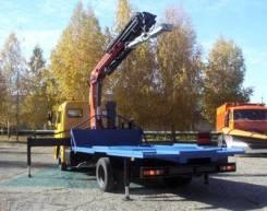 Эвакуатор с КМУ для легковой и грузовой техники