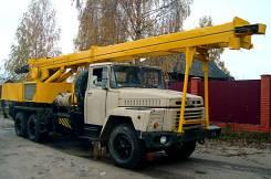 Буровая установка, Автобетоносмеситель , Бортовая а/м КРаЗ-250