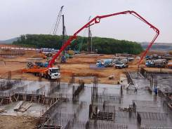 Услуги бетононасоса ( швинга ) 16-30м, цена договорная