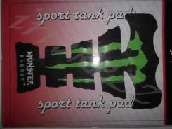 Наклейка Monster Energi  резиновая на бак мото