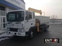 Hyundai HD120 (GOLD) самосвал с КМУ Soosan SCS 335 в наличии !