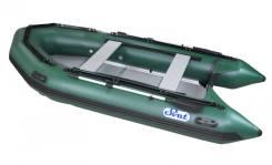 Лодка ПВХ SVAT ZYA360 дно пайольное деревянное, гарантия 2 года