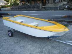 Моторные лодки. 1992 год, длина 3,35м., двигатель подвесной