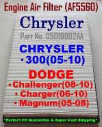 Фильтр воздушный Dodge, Chrysler Generic в наличии