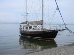 Круизная парусная 2х мачтовая , алюминиевая яхта. Длина 12,00м., 2007 год