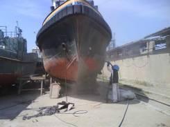 Пескоструйная очистка, обработка судов, днища судов и любой техники!