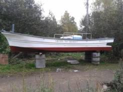 Промысловая лодка с трюмами 7,5 м