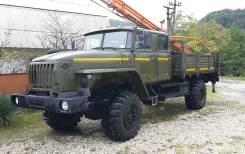 Бурильно-крановая машина БКМ-515А на базе УРАЛ