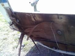 Ремонт транца, перешивка транцевой доски, корпусной ремонт катеров.
