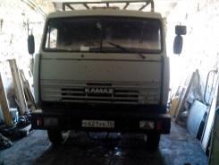 Камаз 53215 с телегой, 1990