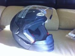 Шлем трансформер Probiker Multijet черный матовый