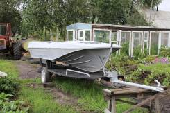 Продам моторную лодку Казанка 5м
