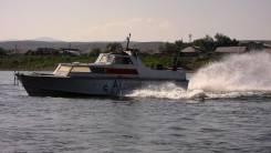 Быстроходный разъездной катер береговой охраны «Аист»