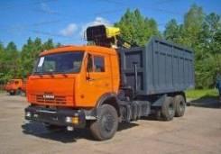 Ломовоз КамАЗ-65115-3094-23(Евро 4), кузов 28 куб., ОМТЛ-97, захват ГЛ