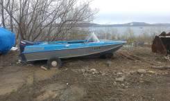 Продам отличную лодку Казанка 5М4 с мотором Yamaha 55л/с