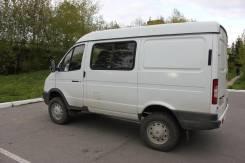 ГАЗ-27527 Соболь 4x4 полноприводной цельнометаллический фургон на 7 м