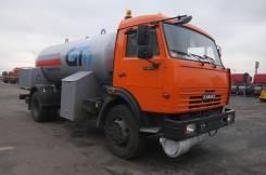 Газозаправщик АЦТ-10 шасси КАМАЗ-43253 (Евро-3), 2013
