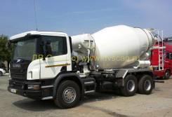 Scania P400CB6x4EHZ mixer 8 m3, 2014