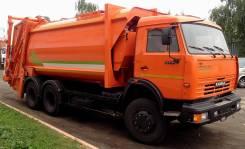 МКЗ-4709-05 на шасси Камаз 65115-3082 Мусоровоз (безкаркасный кузов, с