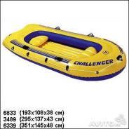 """Лодка """"challenger4""""351/145/48см 4места"""