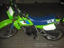 Kawasaki KLR 250, 1992