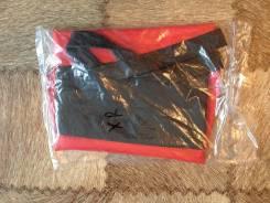 Обшивка обтяжка чехол сиденья Honda черно-красная. В наличии!