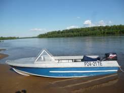 Продам лодку Крым,  в комплекте с 2-х тактным мотором Mercury 30.
