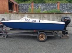 Лодка + мотор + телега