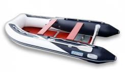 Лодка ПВХ Forward MX360FL, дно пайольное деревянное, синяя/белая