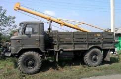 Ямобур на базе ГАЗ 66