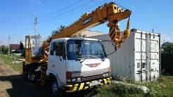 Услуги автокрана Hino Ranger груз-ть 5-7 тонн вылет стрелы 23-24 метра