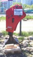 Гидромолот JAB на экскаватор-погрузчик 3-6 тонн