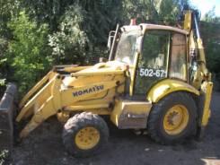 Komatsu WB93R-5, 2003
