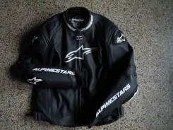Раздельный кожаный комбинезон alpinestars gp pro цвет чёрный