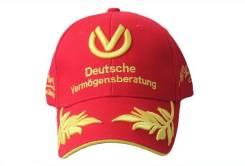 Кепка Ferrari как у Michael Schumacher красная
