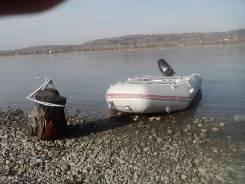 Продам надувную лодку НисаМаран 360 и мотор Марине 15