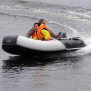 Лодка из ПВХ Badger Wave Line WL360 (NEW) с фанерным пайолом 3,6 м.