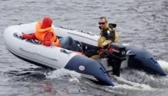 Лодка из ПВХ Badger Heavy Duty HD470 (NEW) с аллюмин. пайолом 4,7 м.