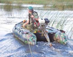 Лодка из ПВХ Badger Hunting Line HL300 (NEW) с фанерным спец. пайолом