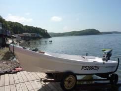 Отличную морскую моторную лодку Бриз-14 с мотором ямаха 20