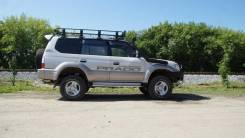 Экспедиционный багажник на Toyota Land Cruiser 95