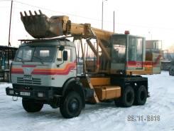 экскаватор ланировщик УДС114 а на шасси КАМАЗ 53228, 2005