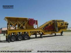 Mobile crushing plant dragon crusher for sale