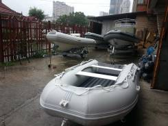 """Заводская лодка """"Одиссей"""" с полом низкого давления 4.20 м"""