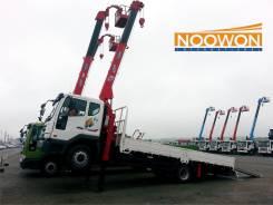 Эвакуатор TATA Daewoo 7 тонн с краном