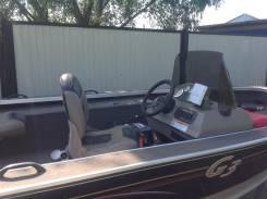 Продам алюминиевую лодку Angler Y-170 с мотором ямаха 90