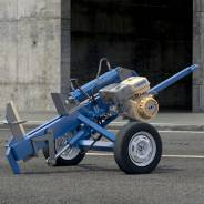 Дровокол Зверь М3 с 15-сильным бензиновым двигателем на колёсном шасси